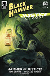 Black Hammer/Justice League: Hammer of Justice! #4 (Tyler Crook Variant Cover)