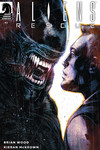 Aliens: Rescue #3 (Mack Chater Variant Cover)