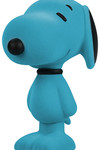 5.5'' Snoopy Flocked Vinyl Figure - Aqua