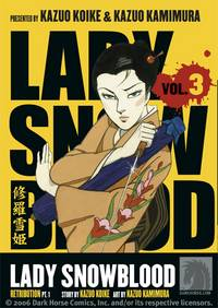 Lady Snowblood Volume 3: Retribution Part 1 TPB