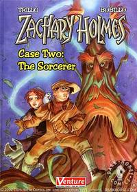 Zachary Holmes Case 2: The Sorcerer HC