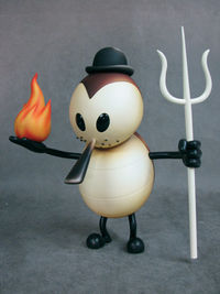 Glenn Barr Hell's Proprietor Vinyl Figure Brown