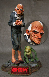 Uncle Creepy Statue