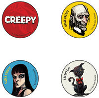 Creepy Button Pack