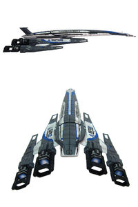 Mass Effect: Alliance Normandy SR-2 Ship Replica