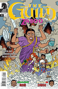 Guild: Zaboo (one-shot) (Evan Dorkin cover)