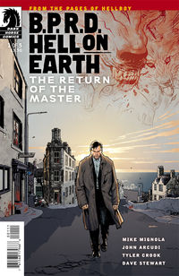 B.P.R.D. Hell on Earth: The Return of the Master #1 (Ryan Sook cover)