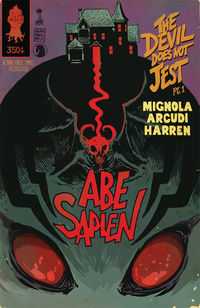 Abe Sapien: The Devil Does Not Jest #1 (Francesco Francavilla variant cover)