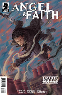 Angel and Faith #9 (Steve Morris cover)