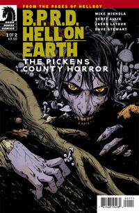 B.P.R.D. Hell on Earth: The Pickens County Horror #1 (Becky Cloonan cover)