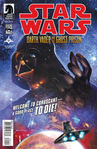 Star Wars: Darth Vader and the Ghost Prison #1 (Dave Wilkins cover)
