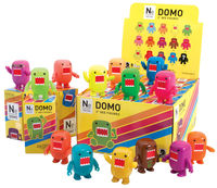 "Domo 2"" Qee Mystery Figures Neon Series Display Case"