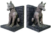 Game of Thrones Bookends: Dire Wolf