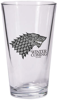 Game of Thrones Pint Glass: Stark Sigil