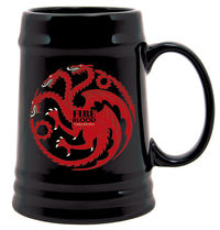 Game of Thrones Ceramic Stein: Targaryen Sigil