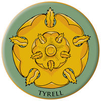 Game of Thrones Embroidered Patch: Tyrell