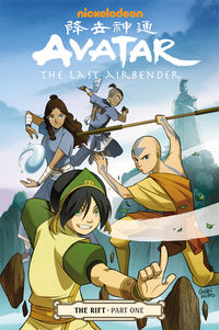 Avatar: The Last Airbender Volume 7 TPB - The Rift Part 1