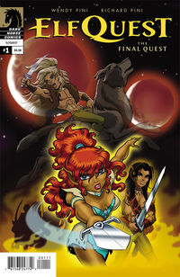 Elfquest: The Final Quest #1 review at TFAW.com