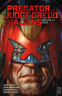 Predator Versus Judge Dredd Versus Aliens: Splice and Dice TPB