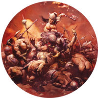 Frank Frazetta Magnet: The Destroyer