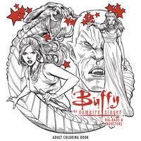 Buffy the Vampire Slayer: Big Bads and Monsters Adult Coloring Book TPB
