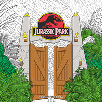 Jurassic Park Coloring Book TPB