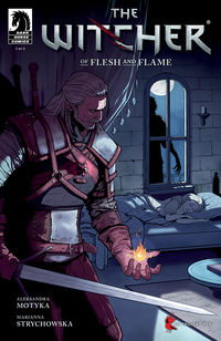 Witcher: Of Flesh and Flame #1
