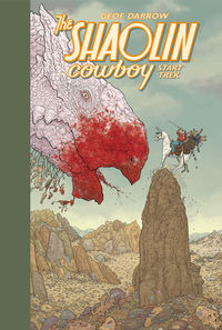 Shaolin Cowboy: Start Trek HC
