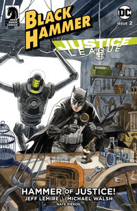 Black Hammer/Justice League: Hammer of Justice! #2 (Jill Thompson Variant Cover)