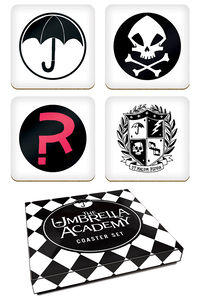 The Umbrella Academy Coaster Set