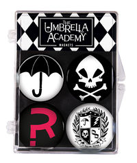 Umbrella Academy Magnet 4-Pack
