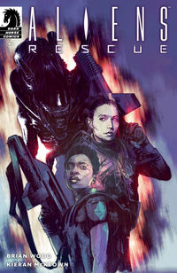 Aliens: Rescue #2 (Mack Chater Variant Cover)
