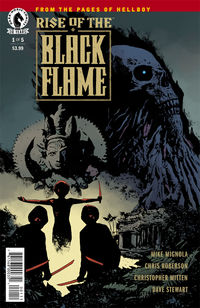 Rise of the Black Flame comics at TFAW.com