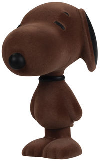 5.5'' Snoopy Flocked Vinyl Figure - Cinnamon