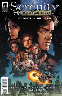 Serenity: No Power in the 'Verse #6 (Georges Jeanty variant cover)