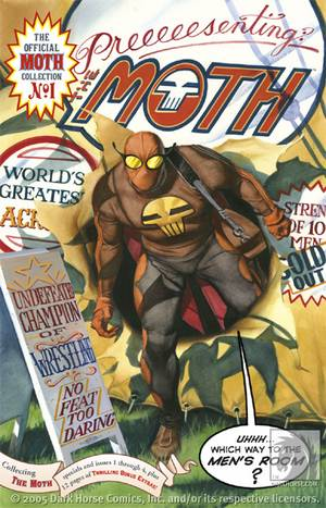 Steve Rude S The Moth Tpb Profile Dark Horse Comics