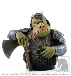 Star wars minibust gamorrean guard profile dark horse comics - Star wars gamorrean guard ...