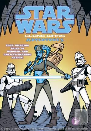 star wars: clone wars adventures vol. 5 tpb :: profile :: dark horse comics