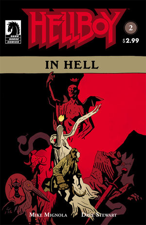 Hellboy In Hell 2 Profile Dark Horse Comics
