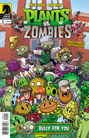 Plants Vs Zombies Bully For You 1 Profile Dark