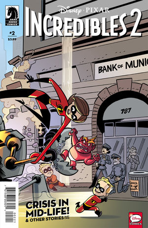 Disney/PIXAR The Incredibles 2 #2 (J Bone & Dan Jackson Variant Cover)