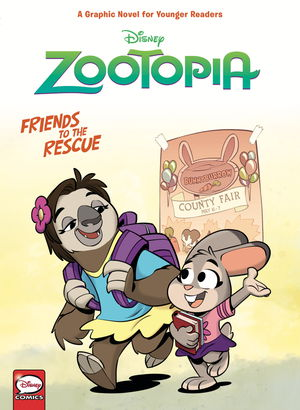 Disney Zootopia: Friends to the Rescue HC (Younger Readers)