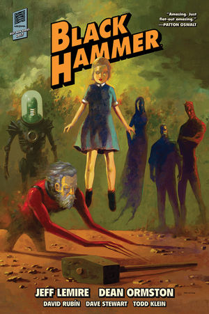 Black Hammer Library Edition Volume 1 HC
