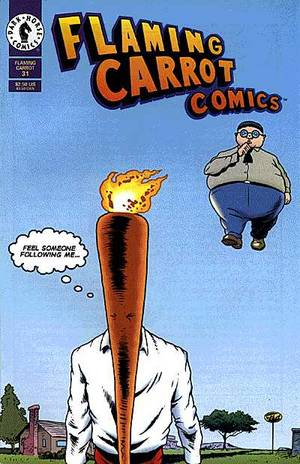 Image result for flaming carrot comics 31