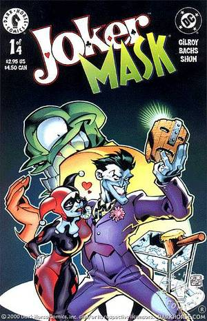 Joker Mask 1 Of 4 Profile Dark Horse Comics