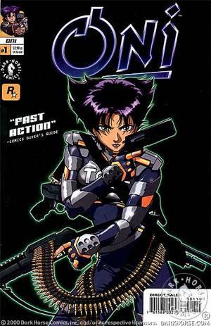 Rockstar Games' Oni #1 (of 3) :: Profile :: Dark Horse Comics
