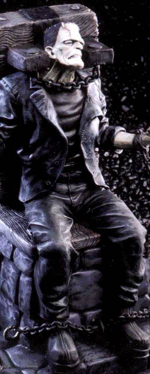 Universal Monsters: Frankenstein Cold-Cast Kit :: Profile