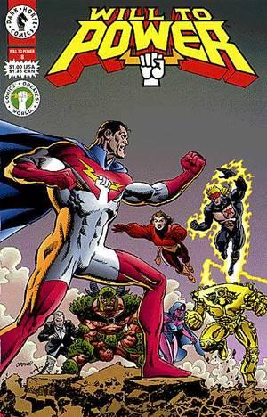 Will To Power 8 Profile Dark Horse Comics