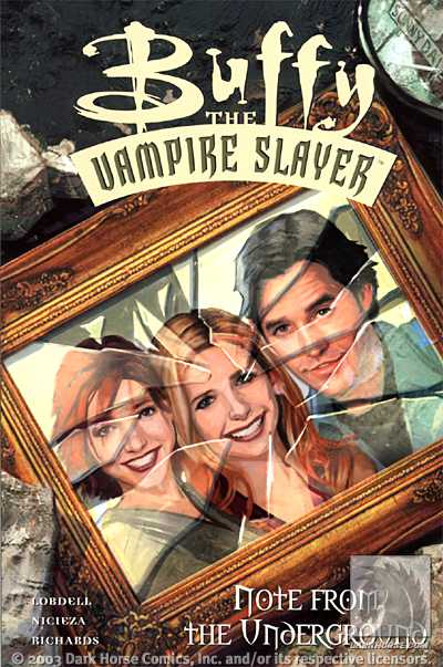Buffy the Vampire Slayer: Note from the Underground TPB