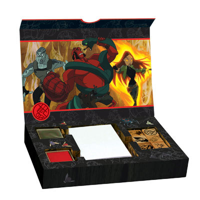 Hellboy Animated Rubber Stamp Kit